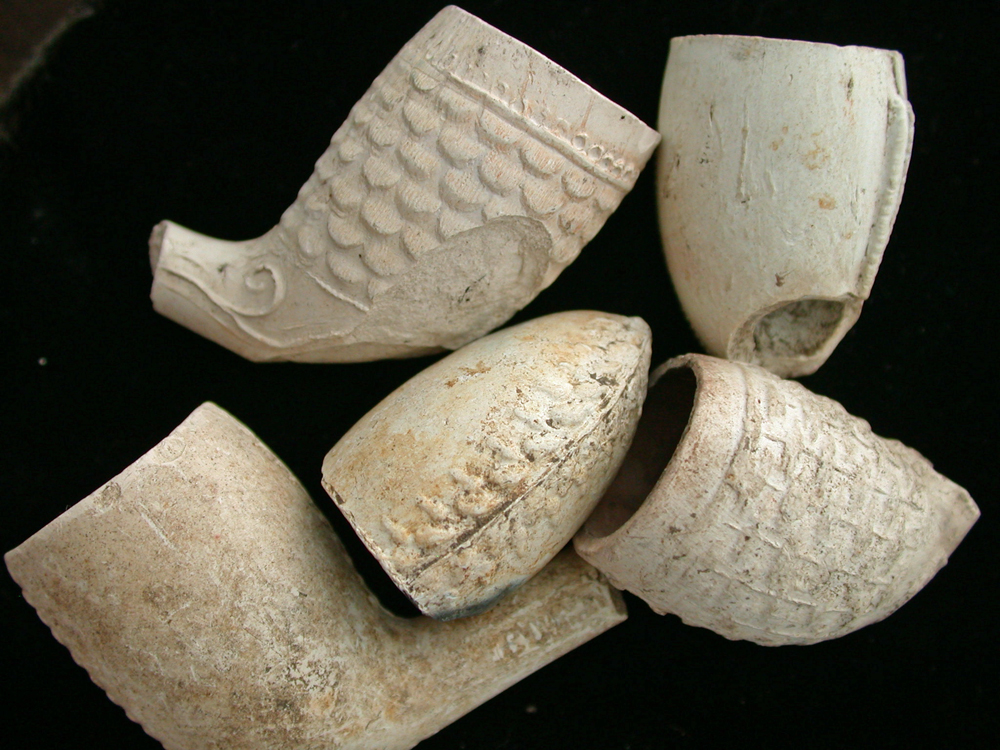 US Civil War Era Clay Pipes
